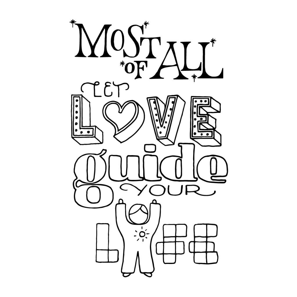 Let love guide-insta