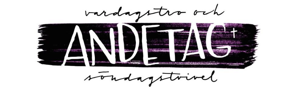 Andetagbloggens logo; vardagstro och söndagstvivel