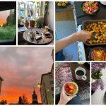 Ett collage med bilder.